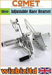 Comet-Silver-Adjustable-Rearset-Suzuki-GSX1250-Bandit-1250-2007-lt-RSSU07CH
