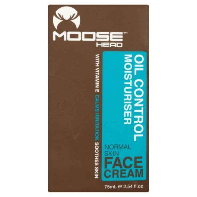 Moosehead Charcoal Oil Control Moisturiser with Vitamin E for Men 75ml