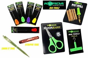 Korda-Rig-Toolz-All-Styles-Available-Baiting-Needle-Pulla-Strippa-Scissors