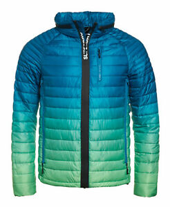 New-Mens-Superdry-Power-Fade-Jacket-Lime