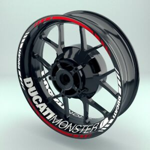 Felgenaufkleber-Motorrad-Felgenrandaufkleber-Ducati-Monster-Optik-viele-Farben