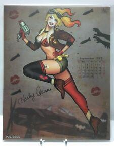 HARLEY-QUINN-034-Harley-Girl-034-8x10-Signed-Art-Print-by-Nathan-Szerdy-2000-BAM-BOX