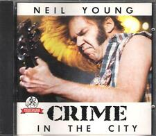 """NEIL YOUNG - RARO CD ITALY ONLY 1991 """" CRIME IN THE CITY """""""