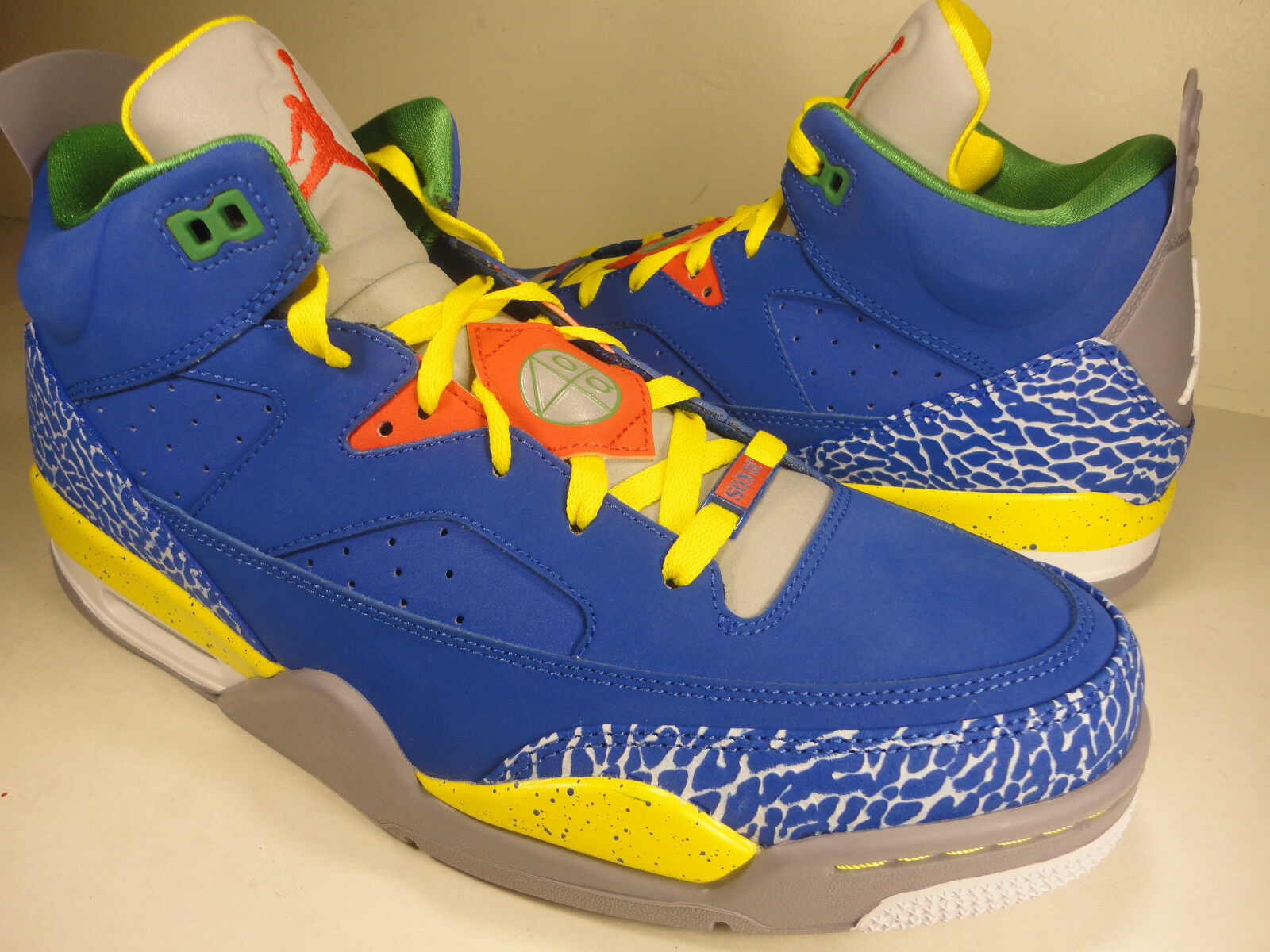 Nike Air Jordan Son Of Low Do The Right SZ Thing White Blue Grey SZ Right 14 (580603-433) d2b9e0