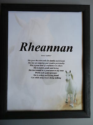 Meaning of YOUR First Name *Personalized* - Horse Lovers ...