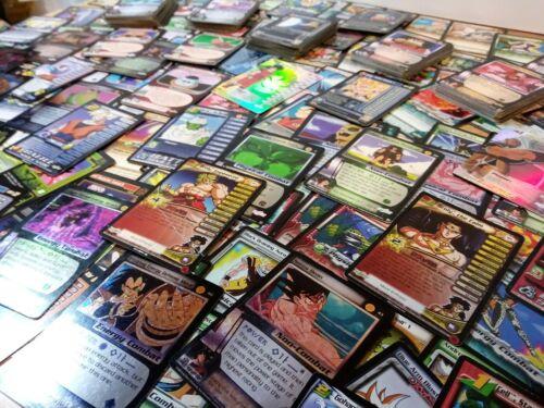 RANDOM LOT X100 DRAGON BALL Z//GT CCG SCORE CARDS 2 PROMO 4 FOIL 8 R 28 UNC 58 CO