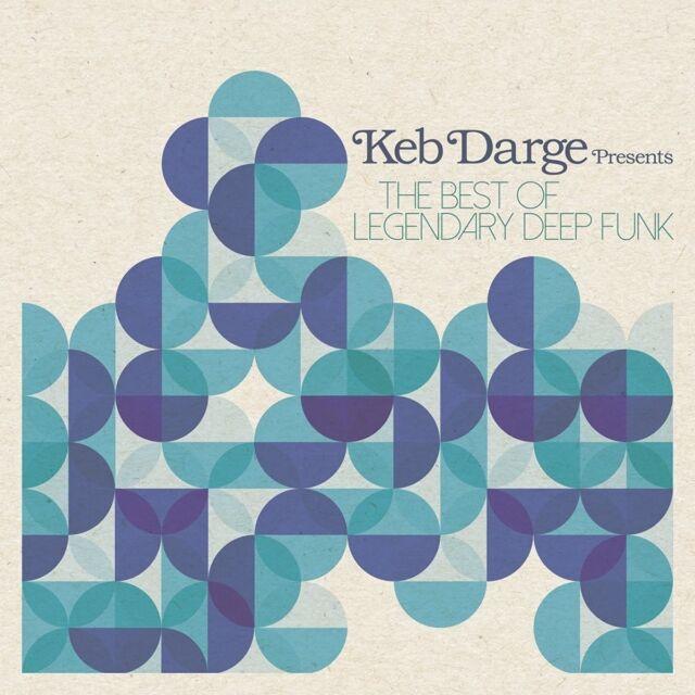 KEB VARIOUS/DARGE - THE BEST OF LEGENDARY DEEP FUNK HEAVYWEIGHT 2 VINYL LP NEW!