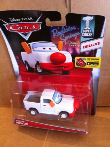 "DISNEY CARS DIECAST Super Chase* Deluxe 2015 Release/"" /""Circus Pickup"