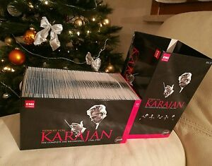 Karajan - The complete EMI recordings vol 1 orchestral 88 CD RARE OUT OF PRINT - Italia - Karajan - The complete EMI recordings vol 1 orchestral 88 CD RARE OUT OF PRINT - Italia