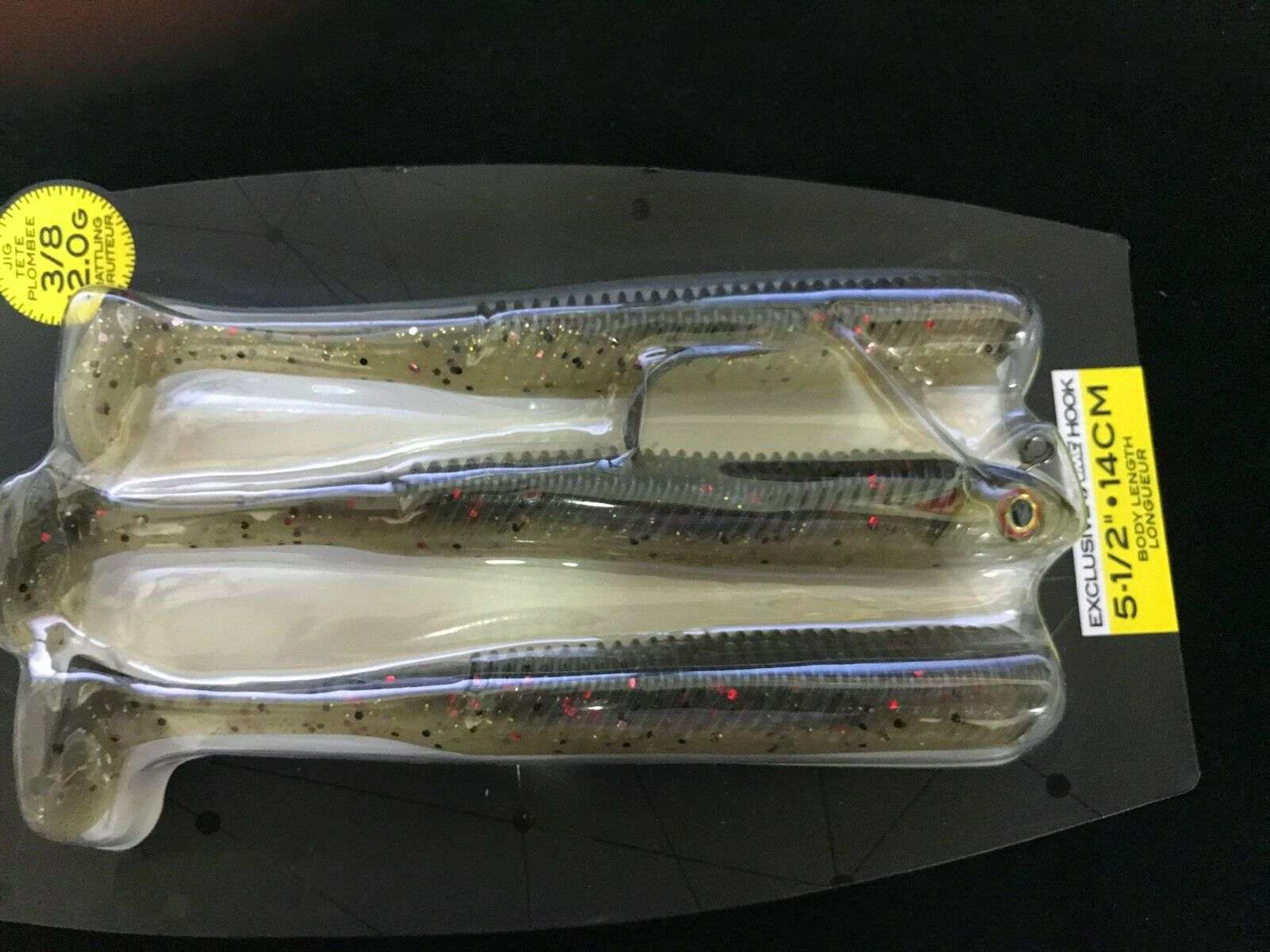 "New Storm 360GT Searchbait 5.5/"" Minnow /""Hot Olive/"" SBM55HO-38J"