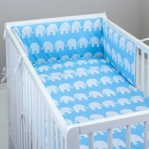 CURTAINS 2//3//5 Pcs Baby Bedding Set Nursery Fit to COT BED 140x70cm-100/% COTTON