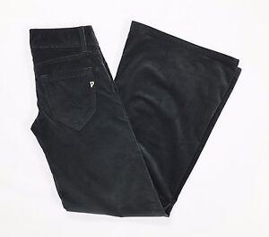 Dondup-pantalone-velluto-coste-w27-40-41-donna-bootcut-zampa-loose-usato-T1171