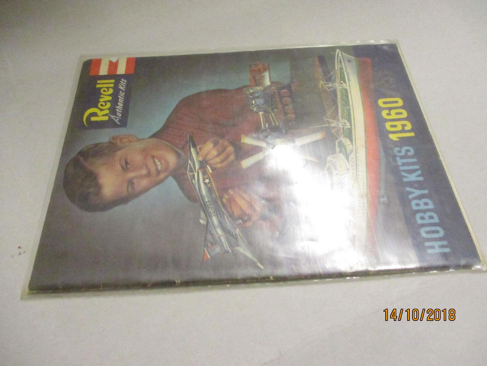 REVELL MODELLO KIT: catalogo 1960/61 USA con listino prezzi 1/1961