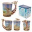 thumbnail 6 - Animal Shaped Handle Ceramic Mug Tea Coffee Cup Novelty Gift Jungle Tropical