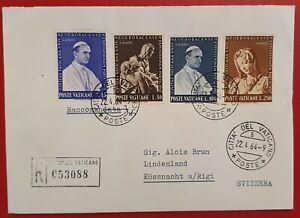 VATICANO VATICAN 1964 POPE PAUL VI NEW YORK PIETA RACC. KÜSSNACHT SVIZZERA