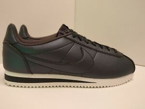 Metallic Womens Nike Classic Hematite Uk Leather Cortez 807471004 5 YYqwr6