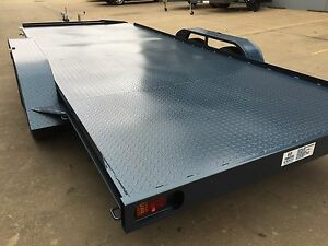 Car-Trailer-Tandem-axle-16X6-6FT-2T-USE4-RACE-FORD-HOLDEN-NO-RAMPS-OR-PAINT-INCL