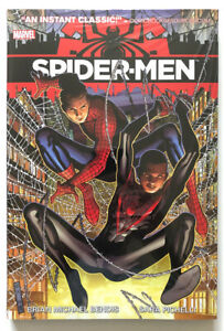 SPIDER-MEN-HC-Hardcover-Sealed-Miles-Morales-Bendis-Spider-Man