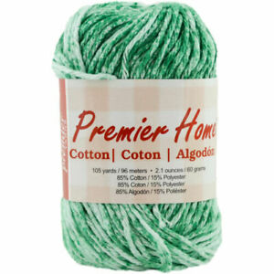 Premier Yarns Home Cotton Yarn Multi-Denim Splash