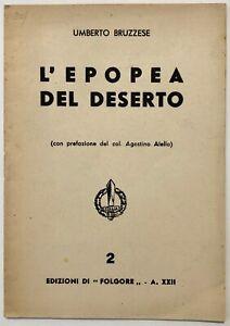RSI-L-EPOPEA-DEL-DESERTO-Umberto-Bruzzese-libro-Edizioni-di-Folgore-XXII-1944