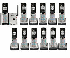 AT&T TL92273 DECT 6.0 Connect to Cell BLUETOOTH 12 Handset Cordless Phone System