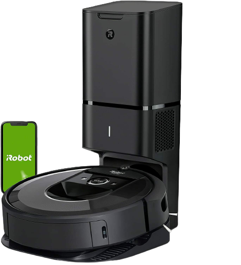 iRobot Roomba i7 <br /> +Self-Emptying Vacuum Cleaning Robot