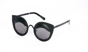 Stile retrò anni 1950 anni/'60 Nero Ala Occhio Occhiali Da Sole Moda Donne UV400 Retro