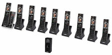 Vtech IS7121 DECT 6.0 Cordless Home Monitoring Door Phone with 9 IS7101 Handsets