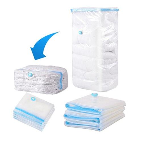 Vakuum Aufbewahrungsbeutel Raumwunder-Taschen Transparent Kleidung Betten Tasche