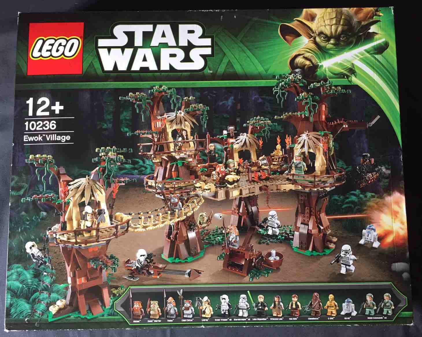 Lego star wars 10236 ewok village (ucs)  nouveau sealed  nouveau sealed   service honnête