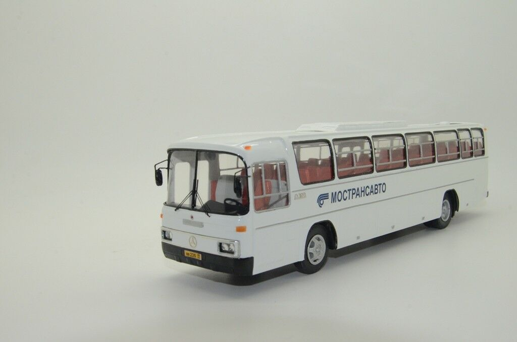 RARE  Mercedes 0 303 15R RHP-7 Bus Mostransavto Hand Made Vector Models 1 43