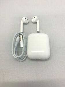 Apple Airpods 2nd Gen Wireless Earbuds White Right Left
