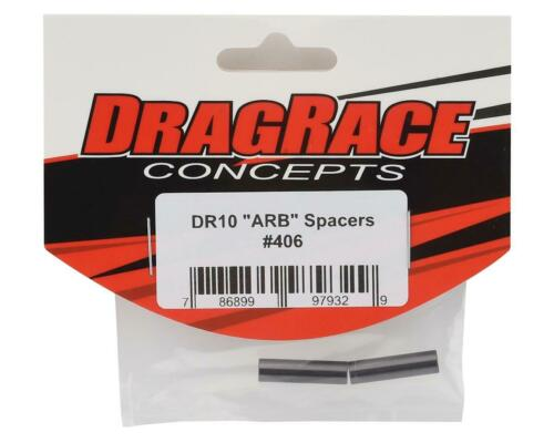 DRC-406 DragRace Concepts Team Associated DR10 ARB Spacers Grey 2