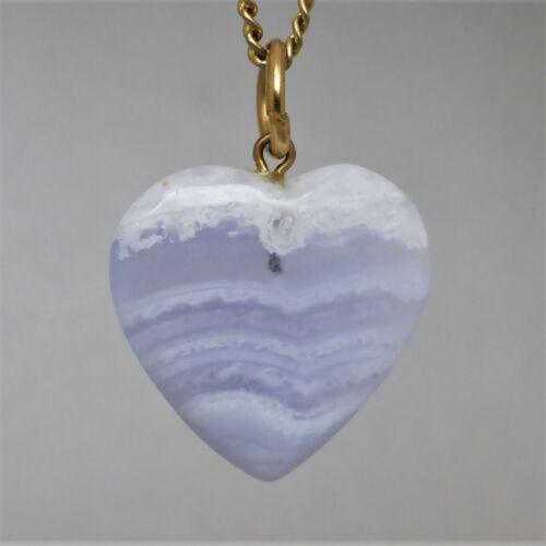 Valentine/'s Gift Vintage Natural Semi-precious Gemstone HEART PENDANT CHARM