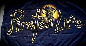 PIRATE-039-S-LIFE-Brand-3-039-x-5-039-FLAG-Indoor-Outdoor-Blackbeard