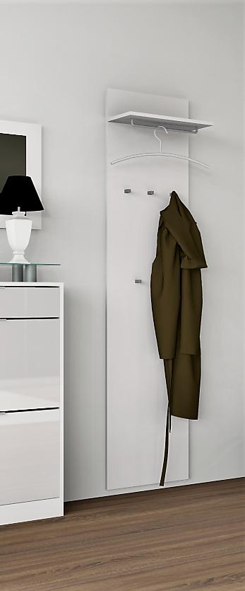 Wandgarderobe  Oliva  Garderobenpaneel Garderobenpaneel Garderobenpaneel Garderobe Flur Diele 170 Weiß ff6d5c