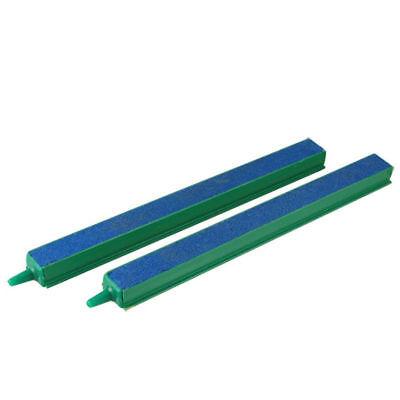 """Acquario 8"""" 20cm Verde Blu A Bolle D'aria Aerazione X2 £ 5.99 24hr Spedizione Rapida Uk- Possedere Sapori Cinesi"""