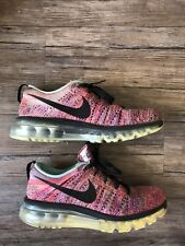 8cb6367c9c55 item 3 Womens Nike Flyknit Max 620659-009 Black Pink Orange Purple Size 8  Shoes Running -Womens Nike Flyknit Max 620659-009 Black Pink Orange Purple  Size 8 ...