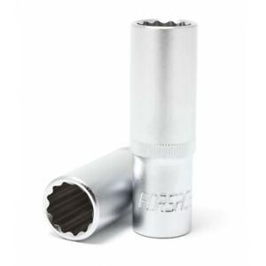Douille-longue-12-pans-1-2-034-Chrome-Vanadium-19-mm-L-75-mm