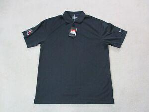 NEW-Nike-Golf-Tour-Performance-Polo-Shirt-Adult-Large-Black-White-DriFit-Mens