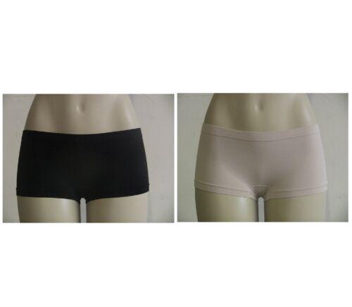 Seamless Everyday Basics Panties Booty Boyshort Mini Yoga Exercise