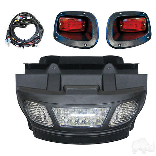 Ezgo TXT LED Luz Barra Parachoques Kit 2014+