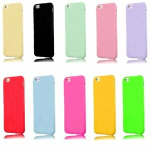 Antichoc-Brillant-Slim-Case-Silicone-Housse-de-Protection-pour-Apple-iPhone-SE-2020