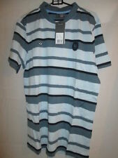 Manchester City Jugador problema Luz Azul Polo Fútbol camiseta Grande Bnwt/ella