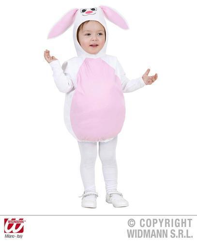 Childrens White Bunny Fancy Dress Costume Easter Rabbit Animal Outfit 104Cm