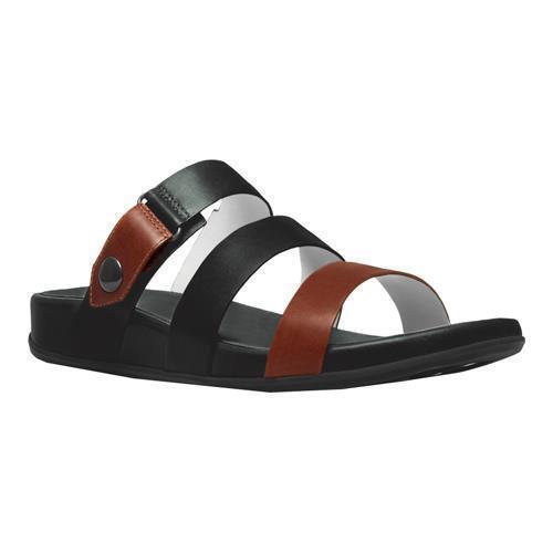 920509a2190a FitFlop Womens Gladdie Slide Gladiator Sandal Black tan 9 M US for sale  online