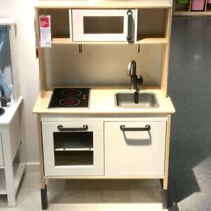 Dettagli su Ikea Duktig Cucina Gioco per Bambini Forno Herd Lavello Armadio  Giocattolo Nuovo