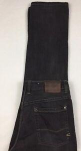 CAMEL-ACTIVE-Mens-Regular-Fit-208-Black-Denim-Jeans-32-X-32-EUC