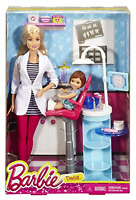 Barbie Doll Careers Dentist Playset With Themed Accessories Collectible Toys