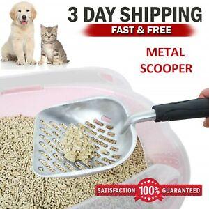 Petmate Pet Cat Kitty Supply Booda Round Edge Litter Pan Scraper Spoon Scoop